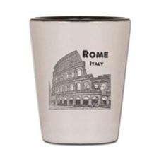 Rome_10x10_v1_Black_Colosseum Shot Glass