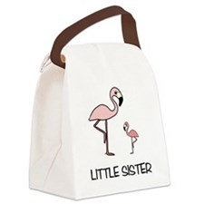 Little Sister Canvas Lunch Bag