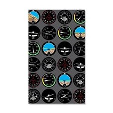 Flight Instruments Wall Decal