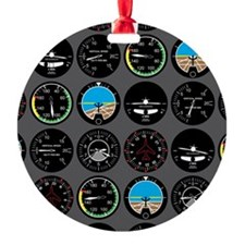 Flight Instruments Ornament