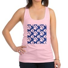 Cute Dog Paws Racerback Tank Top