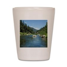 Heart of the Feather River Shot Glass