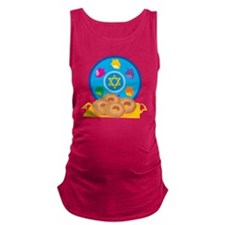 Hanukkah Maternity Tank Top