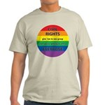 CIVIL RIGHTS EVERYONE Light T-Shirt