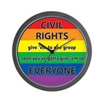 CIVIL RIGHTS EVERYONE Wall Clock