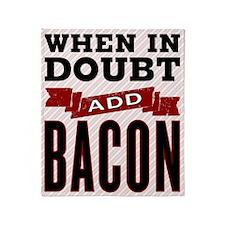 Add Bacon Throw Blanket