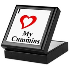 I Love My Cummins Keepsake Box