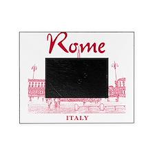 Rome_10x10_v1_Red_Piazza del Popolo Picture Frame