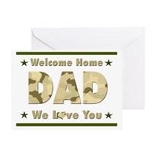 Welcome Home Dad Greeting Card