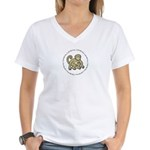 Little Monkey Women's V-Neck T-Shirt