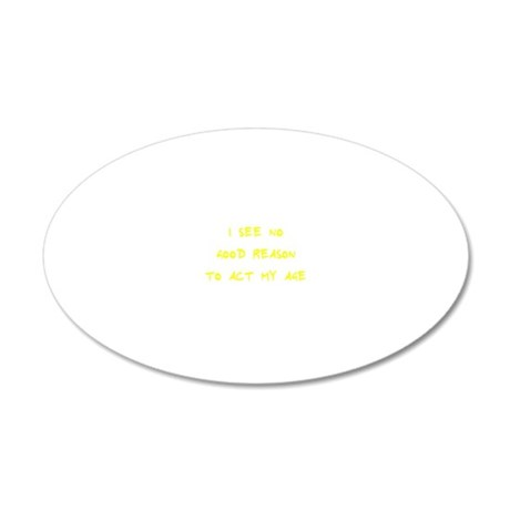 eeevvevfse 20x12 Oval Wall Decal
