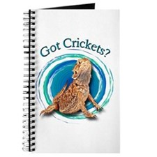 Bearded Dragon Got Crickets II Journal