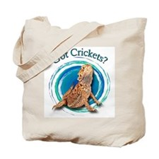 Bearded Dragon Got Crickets II Tote Bag