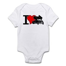 iHEARTsprints Infant Bodysuit