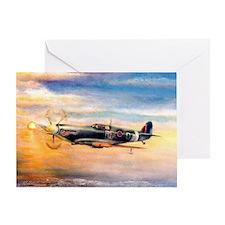 SPITFIRE ART Greeting Card