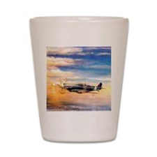 SPITFIRE ART Shot Glass