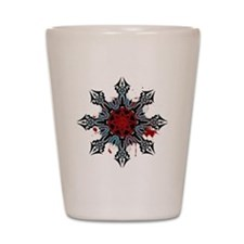 Cross of Chaos Shot Glass