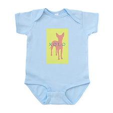 xolo dog Infant Bodysuit
