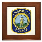 Columbia Police Framed Tile