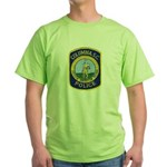 Columbia Police Green T-Shirt