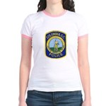 Columbia Police Jr. Ringer T-Shirt