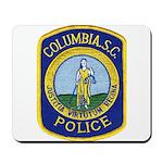 Columbia Police Mousepad