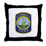 Columbia Police Throw Pillow