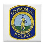Columbia Police Tile Coaster