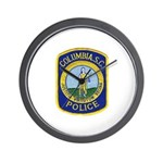 Columbia Police Wall Clock