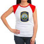 Columbia Police Women's Cap Sleeve T-Shirt
