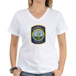 Columbia Police Women's V-Neck T-Shirt
