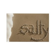 salty sepia Rectangle Magnet