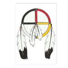 Feathered Medicine Wheel Postcards (Package of 8)
