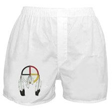 Feathered Medicine Wheel Boxer Shorts