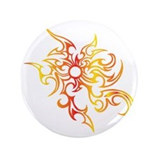 "Burning Sun 3.5"" Button"