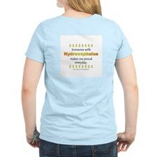 Hydrocephalus Pride (backprint) T-Shirt