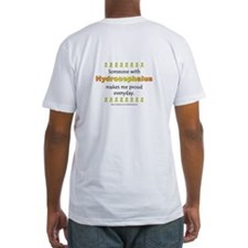 Hydrocephalus Pride (backprint) Shirt