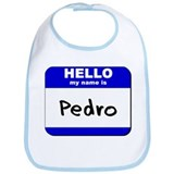 hello my name is pedro  Bib