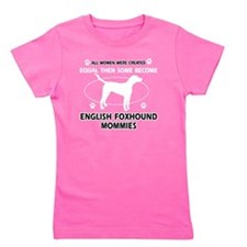 English Foxhound Mommies Designs Girl's Tee
