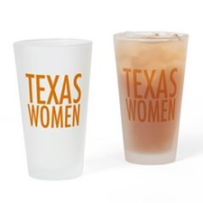 Stand with Texas Women Drinking Glass