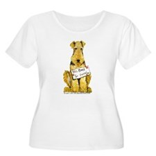 Airedale Terrier Bark for Food T-Shirt