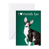 Cornish Rex Greeting Cards (Pk of 10)