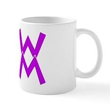Purple WWMM logo Mug