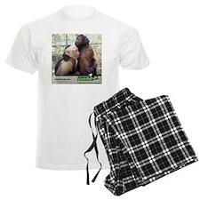 Monkey Love Pajamas