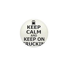 Keep on Truckin' Mini Button