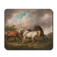The Meeting of the Horses Mousepad