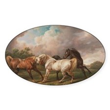 The Meeting of the Horses Decal