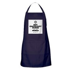 The Best in the World Nurse Oncology Apron (dark)