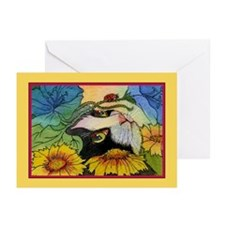 The Curious Cat Greeting Cards (Pk of 10)