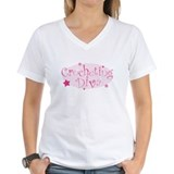 """Crocheting Diva"" [pink] Shirt"